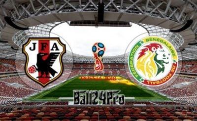 ดูบอลย้อนหลัง ฟุตบอลโลก 2018 ญี่ปุ่น vs เซเนกัล 24-6-2018