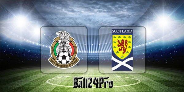 ไฮไลท์ฟุตบอล กระชับมิตร เม็กซิโก 1-0 สกอตแลนด์ 3-6-2018