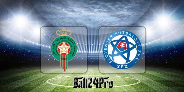 ไฮไลท์ฟุตบอล กระชับมิตร โมร็อกโก 2-1 สโลวาเกีย 4-6-2018