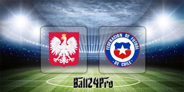 ไฮไลท์ฟุตบอล กระชับมิตร โปแลนด์ 2-2 ชิลี 8-6-2018