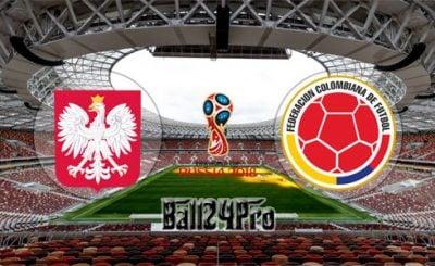 ดูบอลย้อนหลัง ฟุตบอลโลก 2018 โปแลนด์ vs โคลอมเบีย 24-6-2018