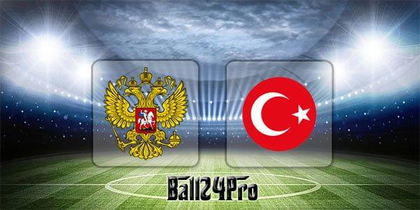 ไฮไลท์ฟุตบอล กระชับมิตร รัสเซีย 1-1 ตุรกี 5-6-2018