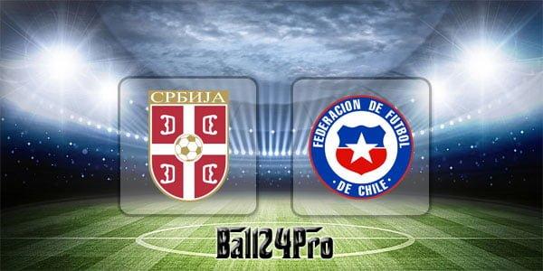 ดูบอลย้อนหลัง กระชับมิตร เซอร์เบีย vs ชิลี 4-6-2018