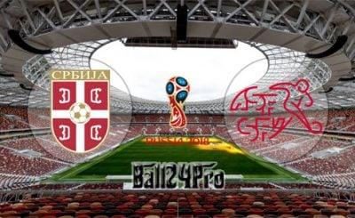 ดูบอลย้อนหลัง ฟุตบอลโลก 2018 เซอร์เบีย vs สวิตเซอร์แลนด์ 22-6-2018