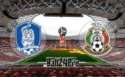 ดูบอลย้อนหลัง ฟุตบอลโลก 2018 เกาหลีใต้ vs เม็กซิโก 23-6-2018