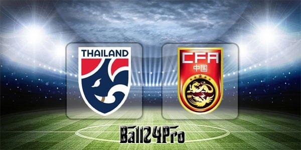 ดูบอลย้อนหลัง กระชับมิตร ไทย vs จีน 2-6-2018