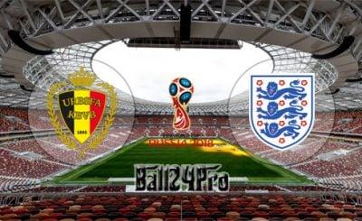 ดูบอลย้อนหลัง ฟุตบอลโลก 2018 ชิงที่สาม เบลเยี่ยม vs อังกฤษ 14-7-2018