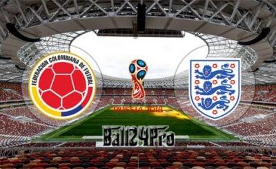 ดูบอลย้อนหลัง ฟุตบอลโลก 2018 โคลัมเบีย vs อังกฤษ 3-7-2018