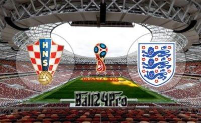 ดูบอลย้อนหลัง ฟุตบอลโลก 2018 โครเอเชีย vs อังกฤษ 11-7-2018