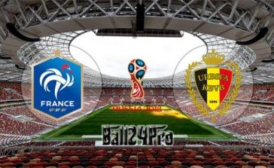 ดูบอลย้อนหลัง ฟุตบอลโลก 2018 ฝรั่งเศส vs เบลเยี่ยม 10-7-2018