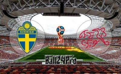 ดูบอลย้อนหลัง ฟุตบอลโลก 2018 สวีเดน vs สวิตเซอร์แลนด์ 3-7-2018