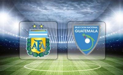 ดูบอลย้อนหลัง กระชับมิตรทีมชาติ อาร์เจนตินา vs กัวเตมาลา 8-9-2018
