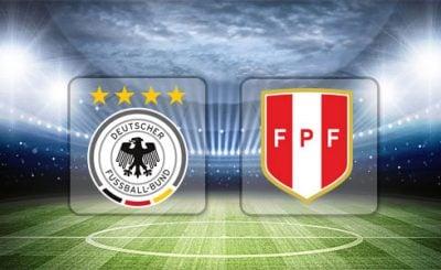 ดูบอลย้อนหลัง กระชับมิตรทีมชาติ เยอรมนี vs เปรู 9-9-2018