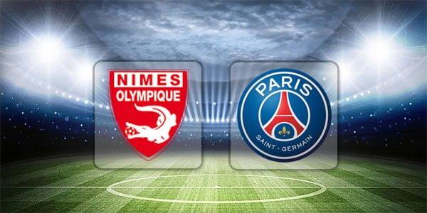 ดูบอลย้อนหลัง ลีกเอิง นีมส์ vs ปารีสแซงต์แชร์กแมง 1-9-2018