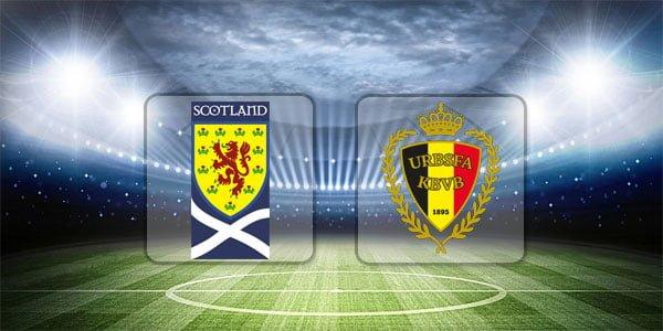 ดูบอลย้อนหลัง กระชับมิตรทีมชาติ สกอตแลนด์ vs เบลเยียม 8-9-2018
