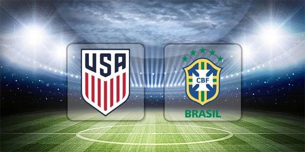 ดูบอลย้อนหลัง กระชับมิตรทีมชาติ สหรัฐอเมริกา vs บราซิล 7-9-2018