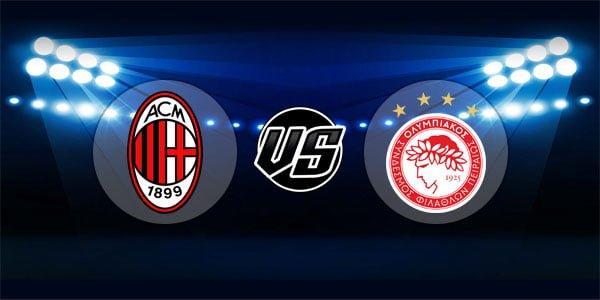 ดูบอลย้อนหลัง ยูฟ่า ยูโรปาลีก เอซีมิลาน vs โอลิมเปียกอส 4-10-2018