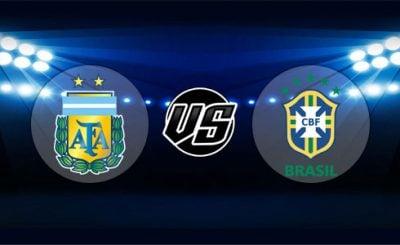 ดูบอลย้อนหลัง ยูฟ่าเนชันส์ลีก อาร์เจนตินา vs บราซิล 16-10-2018