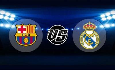ดูบอลย้อนหลัง ลาลีกา สเปน บาร์เซโลน่า vs เรอัลมาดริด 28-10-2018