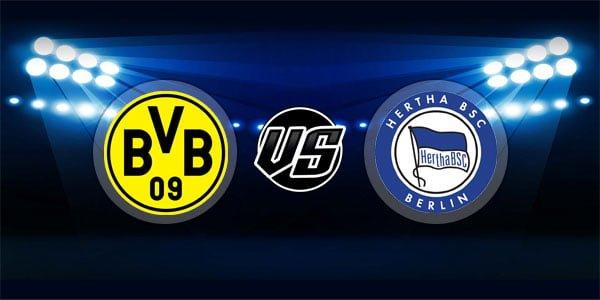 ดูบอลย้อนหลัง บุนเดสลีกา เยอรมัน ดอร์ทมุนด์ vs แฮร์ธ่าเบอร์ลิน 27-10-2018