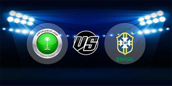 ดูบอลย้อนหลัง ยูฟ่าเนชันส์ลีก ซาอุดีอาระเบีย vs บราซิล 12-10-2018