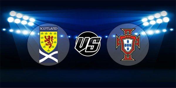 ดูบอลย้อนหลัง ยูฟ่าเนชันส์ลีก สกอตแลนด์ vs โปรตุเกส 14-10-2018