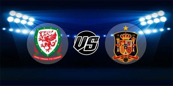 ดูบอลย้อนหลัง กระชับมิตร เวลส์ vs สเปน 11-10-2018