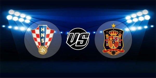 ดูบอลย้อนหลัง กระชับมิตร โครเอเชีย vs สเปน 15-11-2018