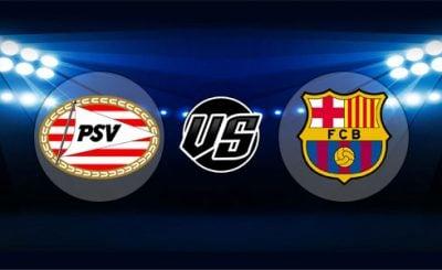 ดูบอลย้อนหลัง ยูฟ่า แชมเปียนส์ลีก พีเอสวี ไอนด์โฮเฟ่น vs บาร์เซโลน่า 28-11-2018