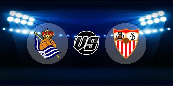 ดูบอลย้อนหลัง ลาลีกา สเปน เรอัลโซเซียดาด vs เซบีย่า 4-11-2018