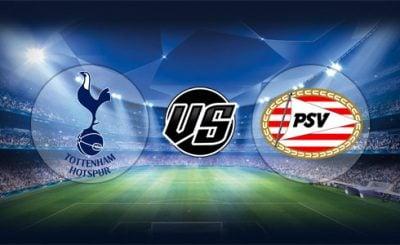 ดูบอลย้อนหลัง ยูฟ่า แชมเปียนส์ลีก สเปอร์ส vs พีเอสวี ไอโฮเฟ่น 6-11-2018