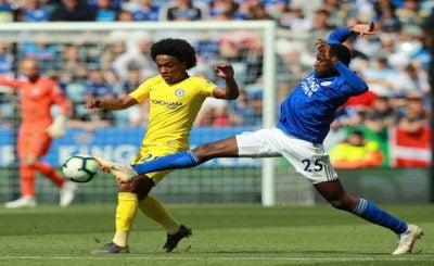 ไฮไลท์ฟุตบอล พรีเมียร์ลีก เลสเตอร์ซิตี้ 0-0 เชลซี 12-5-2019