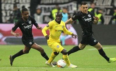 ไฮไลท์ฟุตบอล ยูฟ่า ยูโรปาลีก แฟรงค์เฟิร์ต vs เชลซี 2-5-2019