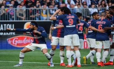 ไฮไลท์ฟุตบอล ลีกเอิง อองเช่ร์ 1-2 ปารีส แซงต์ แชร์กแมง 11-5-2019