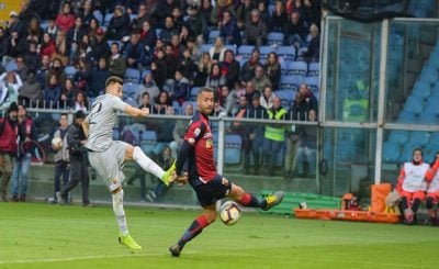 ไฮไลท์ฟุตบอล เซเรียอา อิตาลี เจนัว 1-1 โรม่า 5-5-2019