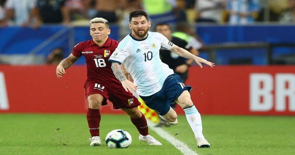 ไฮไลท์ฟุตบอล โคปา อเมริกา เวเนซูเอล่า 0-2 อาร์เจนติน่า