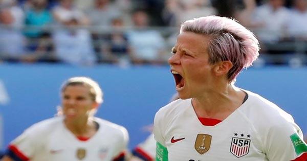 ไฮไลท์ฟุตบอล ฟุตบอลโลกหญิง ฝรั่งเศส(ญ) 1-2 สหรัฐอเมริกา(ญ)