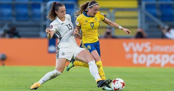 ไฮไลท์ฟุตบอล ฟุตบอลโลกหญิง เยอรมัน(ญ) 1-2 สวีเดน(ญ)
