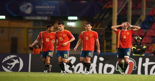 ไฮไลท์ฟุตบอล ชิงแชมป์ยุโรป U21 สเปน 4-1 ฝรั่งเศส