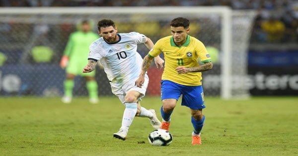 ไฮไลท์ฟุตบอล โคปา อเมริกา บราซิล 2-0 อาร์เจนตินา