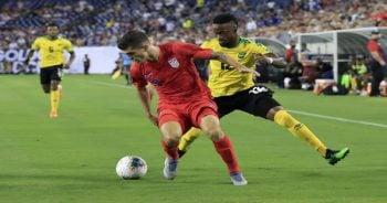 ไฮไลท์ฟุตบอล โกลด์คัพ จาเมกา vs สหรัฐอเมริกา
