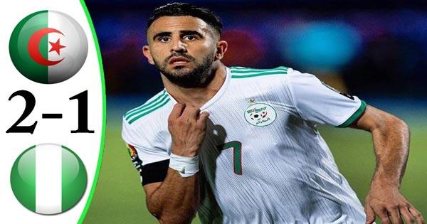 ไฮไลท์ฟุตบอล แอฟริกา คัพ แอลจีเรีย 2-1 ไนจีเรีย
