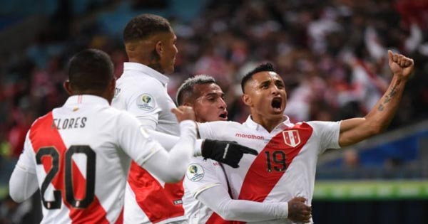เปรู สุดคม ถล่ม ชิลี ทะลุชิง บราซิล ฟุตบอลโคปา อเมริกา 2019