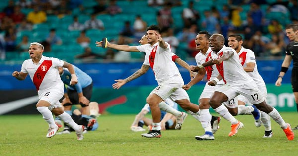ไฮไลท์ฟุตบอล โคปา อเมริกา ชิลี vs เปรู