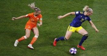 ไฮไลท์ฟุตบอล ฟุตบอลโลกหญิง 2019 เนเธอร์แลนด์(ญ) 1-0 สวีเดน(ญ)
