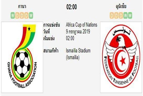 ทีเด็ดฟุตบอล แอฟริกันเนชันส์ คัพ [50]กาน่า (-0/0.5) ตูนิเซีย[25]