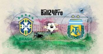 ดูบอลย้อนหลัง โคปา อเมริกา บราซิล vs อาร์เจนตินา