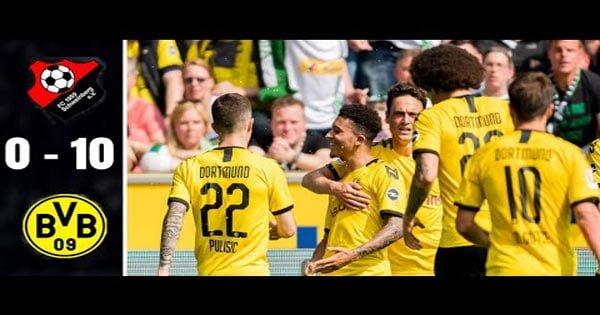 ไฮไลท์ฟุตบอล FC Schweinberg 0-10 ดอร์ทมุนด์