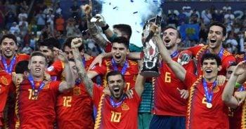 ไฮไลท์ฟุตบอล ชิงแชมป์ยุโรป U21 สเปน 2-1 เยอรมนี